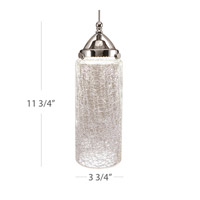 WAC Lighting G499-CR Early Electric 4 inch Glass Only, Cylinder