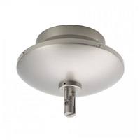 WAC Lighting Lv Monorail Surf Mount Magnet 12V 150W in Brushed Nickel LM-EN12-150M-BN