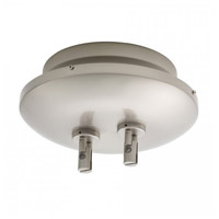 WAC Lighting Lv Monorail Surf Mount Magnet 12V 600W in Brushed Nickel LM-EN12-600M-BN