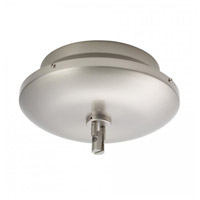 WAC Lighting LM-EN24-600M-BN Solorail 24V Brushed Nickel Rail Canopy Transformer Ceiling Light, 600W