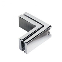 WAC Lighting LM-L-BN Solorail Brushed Nickel Rail L Connector Ceiling Light