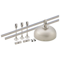 Solorail Brushed Nickel Rail Starter Kit Ceiling Light in 150, 150W