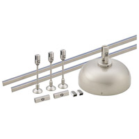 WAC Lighting LM-SK-150E-BN Solorail Brushed Nickel Rail Starter Kit Ceiling Light in 150, 150W