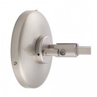 WAC Lighting Lv Monorail-Wall Power Feed in Brushed Nickel LM-WPC-BN photo thumbnail
