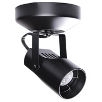 WAC Lighting ME-007LED-BK Spot 007 Black 8 watt LED Spot Light in Halogen ME Canopy