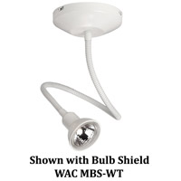 Display Lighting White 50 watt 1 Light Surface Mount Flexible Spot in Halogen