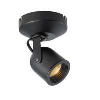WAC Lighting ME-808-BK Spot 808 Black 50 watt 1 Light Spot Light in Halogen