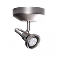 Spot 826 Brushed Nickel 8 watt LED Spot Light
