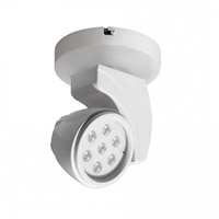 WAC Lighting MO-LED17F-30-WT Display Lighting White 16.5 watt LED Surface Mount Directional in 3000K 45 Degrees