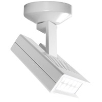 WAC Lighting MO-LED25F-35-WT Display Lighting White 25 watt LED Surface Mount Directional in 3500K, 42 Degrees