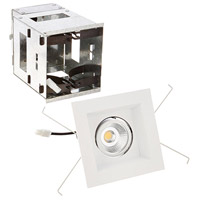 WAC Lighting MT-3LD111R-F930-WT Mini Multiples LED Module White Remodel Housing with Trim