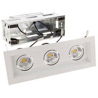 WAC Lighting MT-3LD311R-F930-WT Mini Multiples LED Module White Remodel Housing with Trim