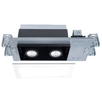 WAC Lighting MT-4210T-935-WTBK Silo Multiples LED Module White Black Recessed Downlights