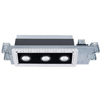 WAC Lighting MT-4310L-935-WTBK Silo Multiples LED Module White Black Recessed Downlights