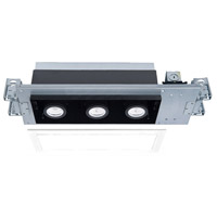 WAC Lighting MT-4310T-935-WTBK Silo Multiples LED Module White Black Recessed Downlights
