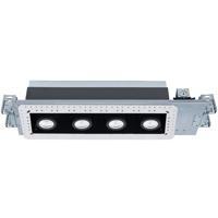 WAC Lighting MT-4415L-940-WTBK Silo Multiples LED Module White Black Recessed Downlights