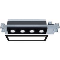 WAC Lighting MT-4415T-940-BKBK Silo Multiples LED Module Black Recessed Downlights
