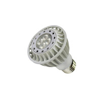 WAC Lighting Signature 1 Light LED Bulb in White PAR20LED-10N30-WT