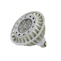 WAC Lighting Signature 1 Light LED Bulb in White PAR38LED-17N30-WT