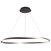 WAC Lighting PD-18041-BK Eternal LED 41 inch Black Pendant Ceiling Light dweLED