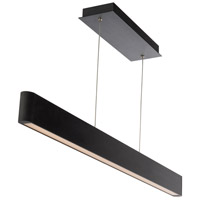 WAC Lighting PD-22744-BK Volo LED 2 inch Black Pendant Ceiling Light in 44in dweLED