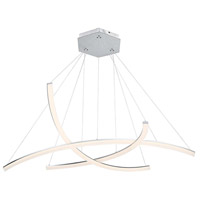 WAC Lighting PD-27803-AL Radius LED 55 inch Brushed Aluminum Pendant Ceiling Light