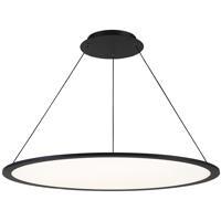WAC Lighting PD-31735-BK Illusion LED 35 inch Black Pendant Ceiling Light dweLED