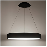 WAC Lighting PD-33732-BK Corso LED 32 inch Black Pendant Ceiling Light, dweLED alternative photo thumbnail