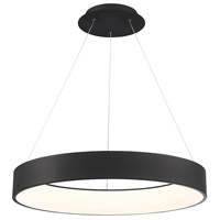WAC Lighting PD-33732-BK Corso LED 32 inch Black Pendant Ceiling Light, dweLED photo thumbnail