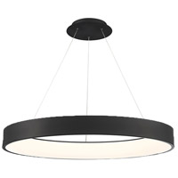WAC Lighting PD-33743-BK Corso LED 43 inch Black Pendant Ceiling Light