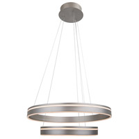 WAC Lighting PD-40902-SN Voyager LED 24 inch Satin Nickel Pendant Ceiling Light, dweLED