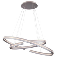WAC Lighting PD-48932-SN Orbit LED 31 inch Satin Nickel Pendant Ceiling Light in 32in dweLED