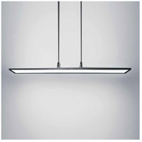 Line LED 10 inch Black Chandelier Ceiling Light