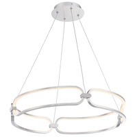 WAC Lighting PD-54924-BN Charmed LED 24 inch Brushed Nickel Pendant Ceiling Light, dweLED