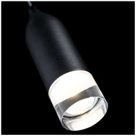 WAC Lighting PD-76908-BK Action LED 2 inch Black Mini Pendant Ceiling Light, dweLED alternative photo thumbnail