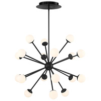 WAC Lighting PD-93838-BK Bossa Nova LED 38 inch Black Pendant Ceiling Light
