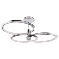 WAC Lighting PD-94940-CH Solaris LED 40 inch Chrome Pendant Ceiling Light, dweLED