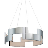 WAC Lighting PD-95820-CH Trap LED 20 inch Chrome Pendant Ceiling Light