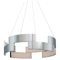 WAC Lighting PD-95827-CH Trap LED 27 inch Chrome Pendant Ceiling Light