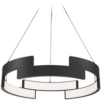 WAC Lighting PD-95838-BK Trap LED 38 inch Black Pendant Ceiling Light