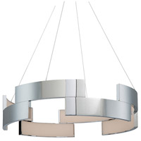 WAC Lighting PD-95838-CH Trap LED 38 inch Chrome Pendant Ceiling Light