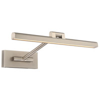 WAC Lighting PL-11017-BN Reed 14 watt 17 inch Brushed Nickel Picture Light Wall Light in 17in dweLED