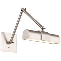 WAC Lighting PL-47023-BN Piano 8 watt 23 inch Brushed Nickel Picture Light Wall Light dweLED
