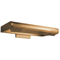 WAC Lighting PL-50011-AB Kent 8 watt 11 inch Aged Brass Picture Light Wall Light in 11in, dweLED