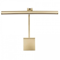 Vibe 8.5 watt 15 inch Satin Brass Picture Light Wall Light in 15in, Hard-Wired