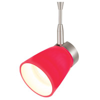 WAC Lighting QF-814-RD/BN Mint 1 Light 12V Brushed Nickel Track Lighting Ceiling Light