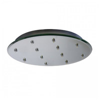 WAC Lighting QMP-G12RN-MR Quick Connect Mirror Canopy