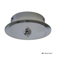 WAC Lighting QMP-G1RN-MR Quick Connect Mirror Canopy