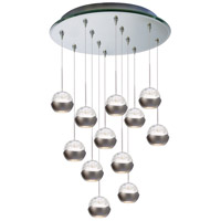 WAC Lighting QMP-LED311/12-MR Cosmopolitan LED 4 inch Mirror Pendant Ceiling Light in 12