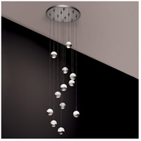 WAC Lighting QMP-LED311/12-MR Cosmopolitan LED 4 inch Mirror Pendant Ceiling Light in 12 alternative photo thumbnail